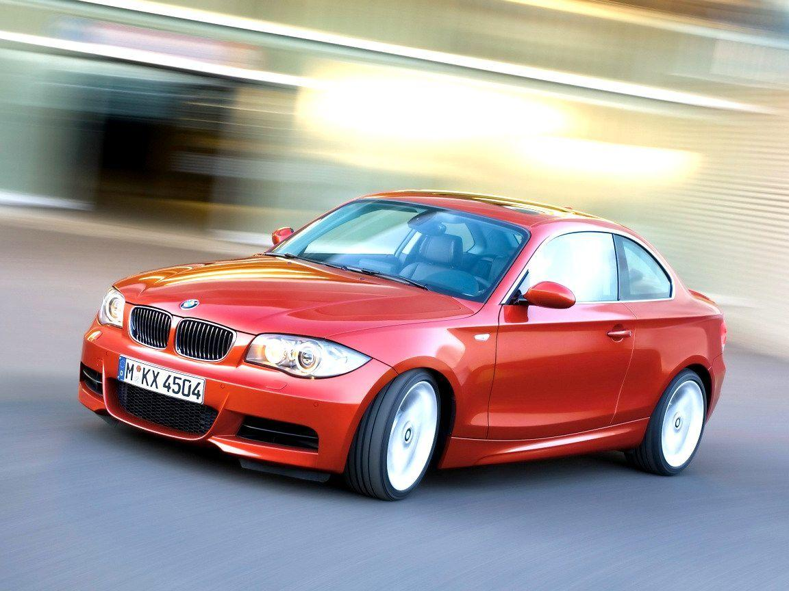 2008 BMW 1 Series Coupe Wallpaper 09 - 1152x864