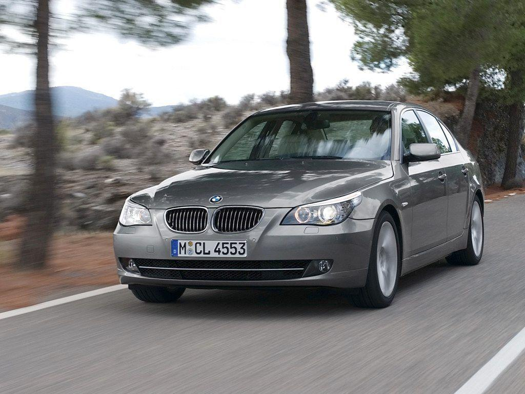 2008 BMW 5 Series Wallpaper 07 - 1024x768