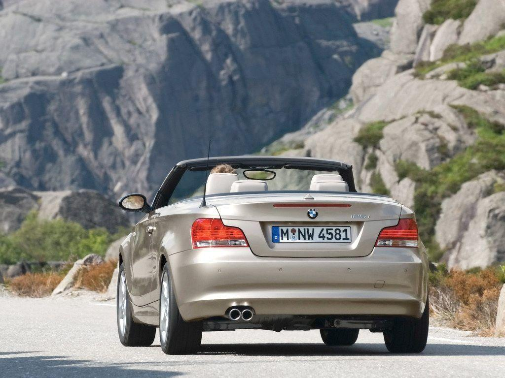 2008 BMW 1 Series Convertible Wallpaper 08 - 1024x768