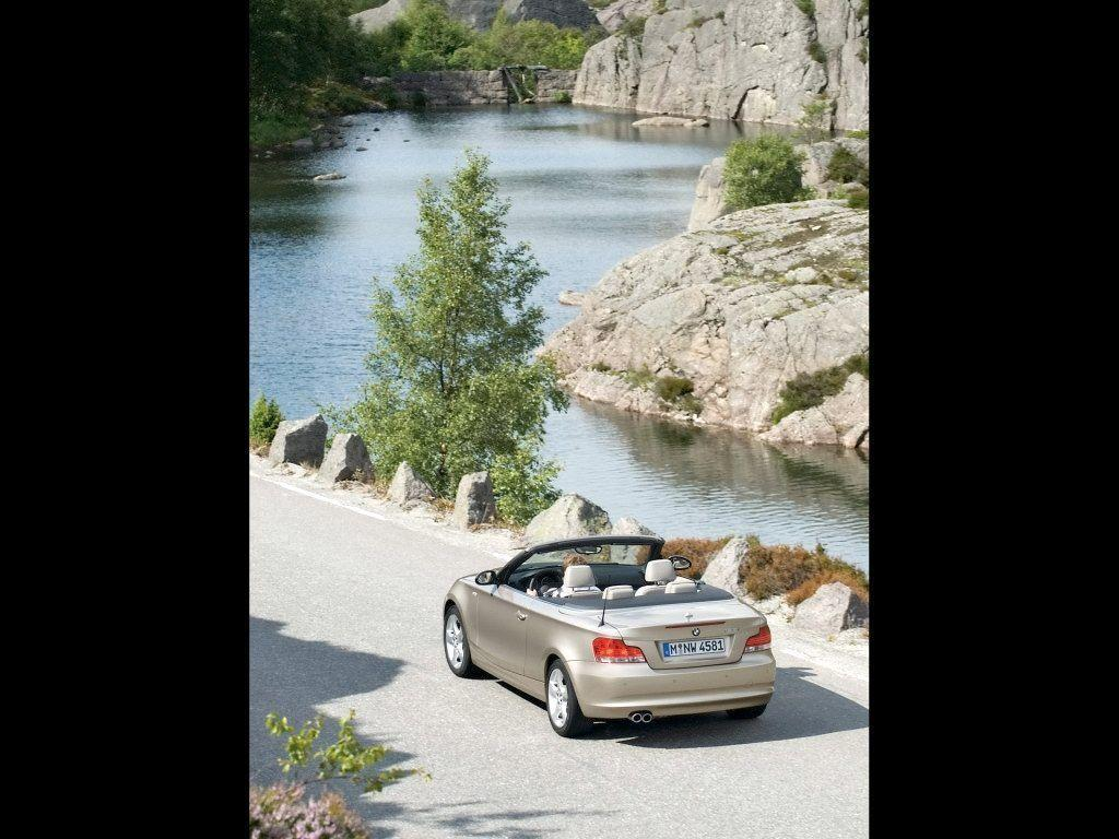 2008 BMW 1 Series Convertible Wallpaper 03 - 1024x768